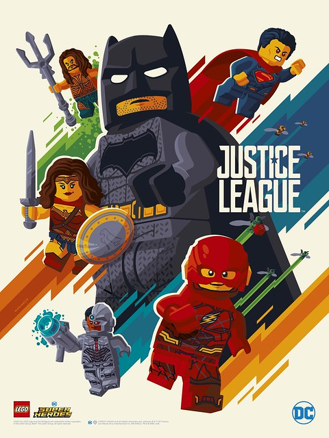 LEGO DC Comics Super Heroes Justice League Poster