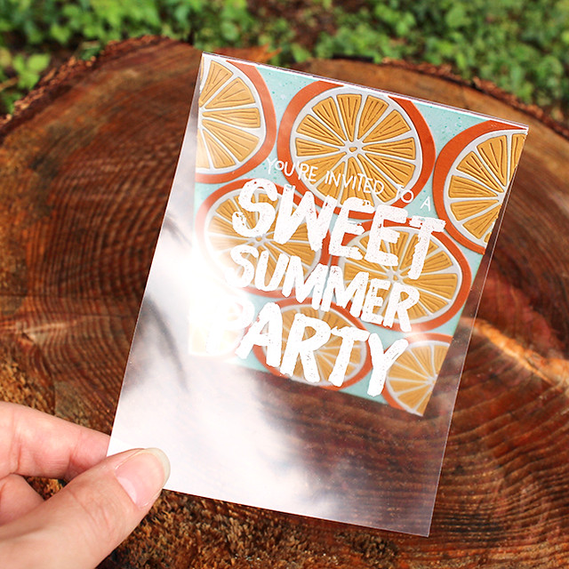 Sweet Summer Party Invitation 4