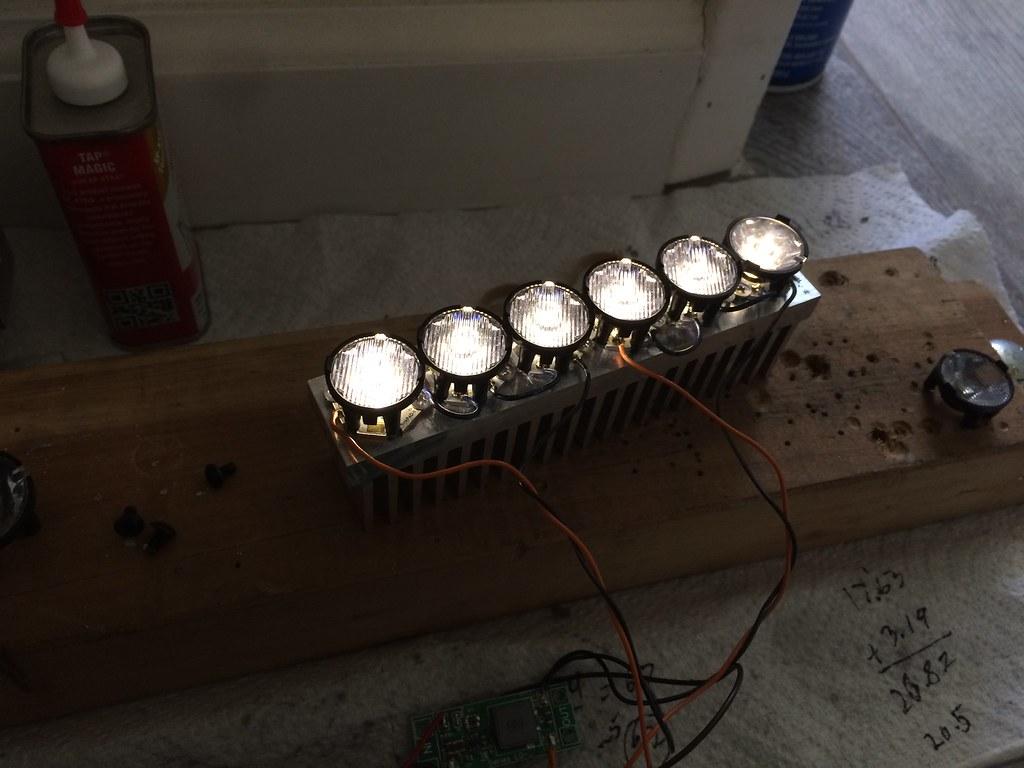 DIY Offroad LED Light Bar   BudgetLightForum.com