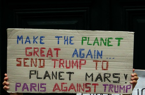 send trump to planet mars !