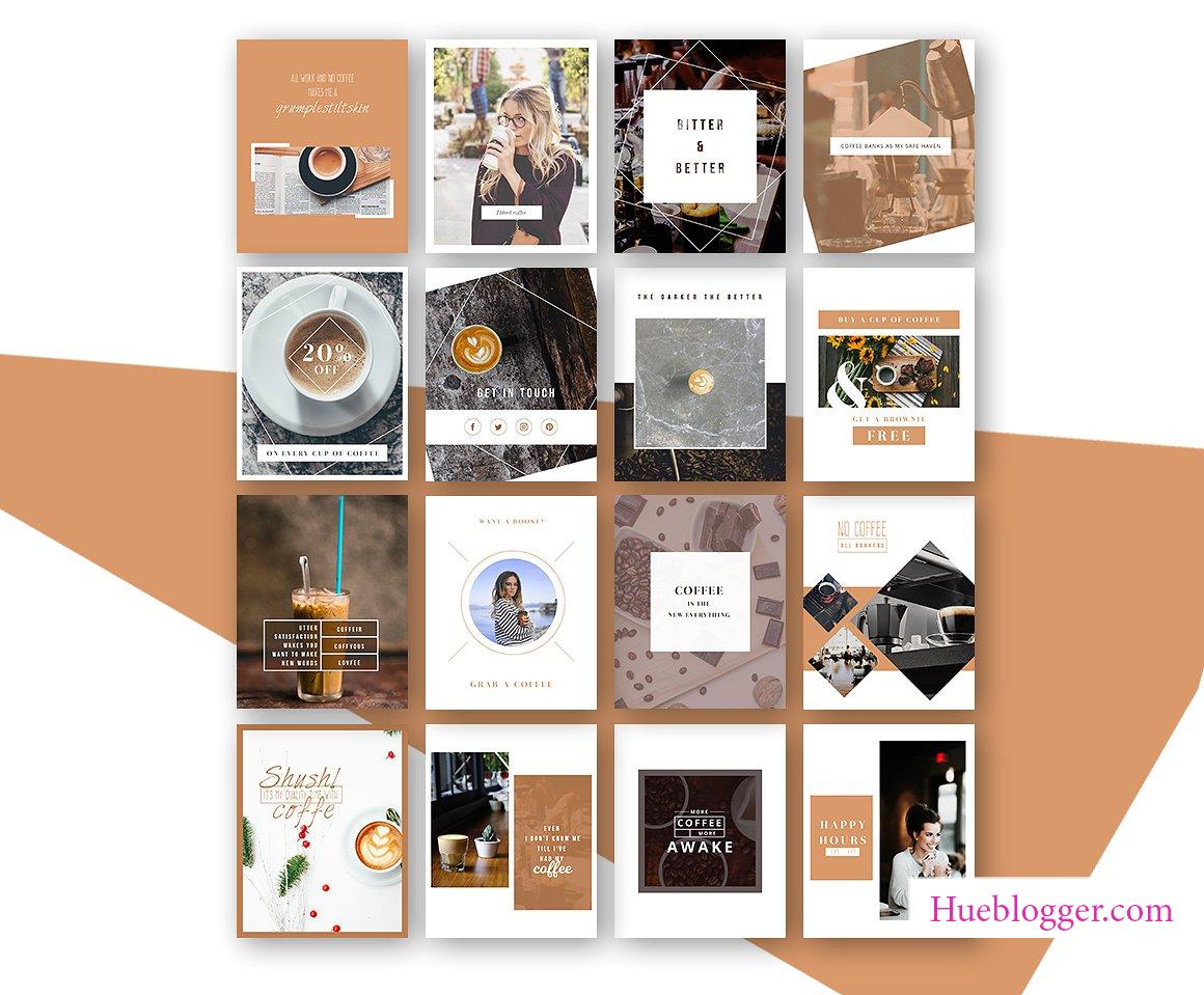 File PSD dành cho design banner coffe
