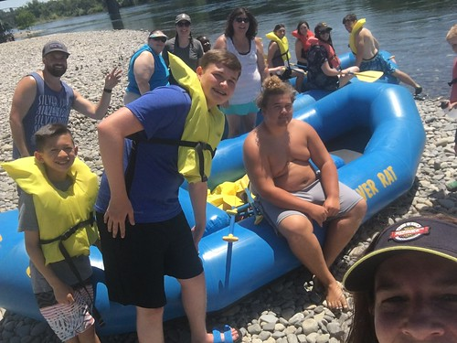 Student Ministry Rafting and Camping 2017