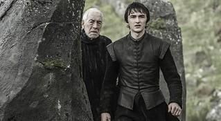 Bran Stark e o Corvo de Três Olhos
