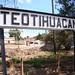Ferrocarril Mexicano - Sign at Former Teotihuacan Passenger Station por ramalama_22