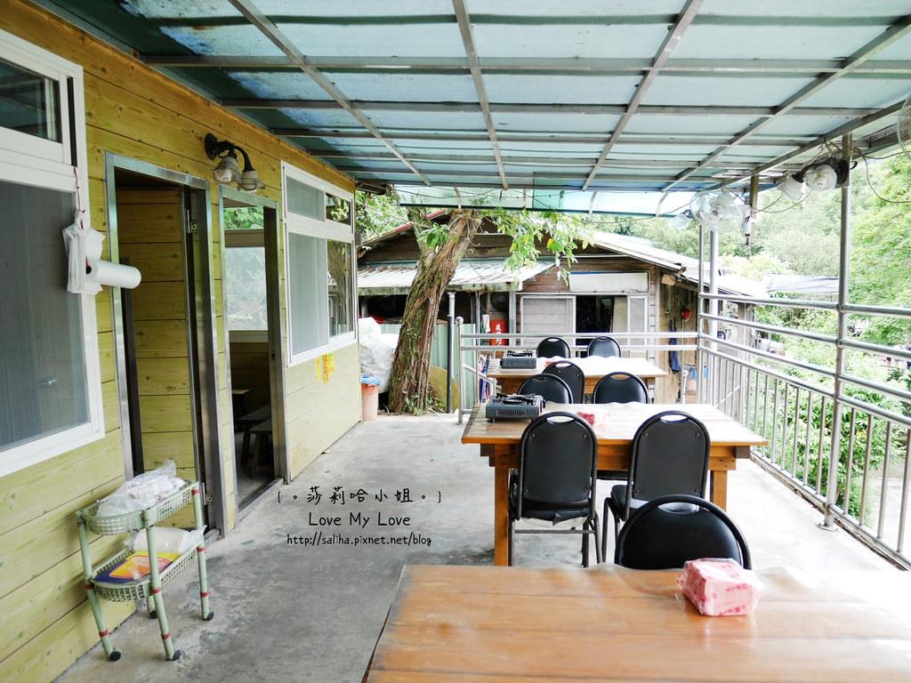 陽明山士林區平菁街山產料理餐廳大樹下小饅頭 (6)