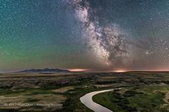 The Night Shadowed Prairie