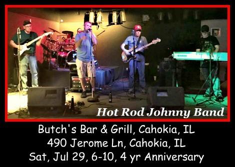 Hot Rod Johnny Band 7-29-17