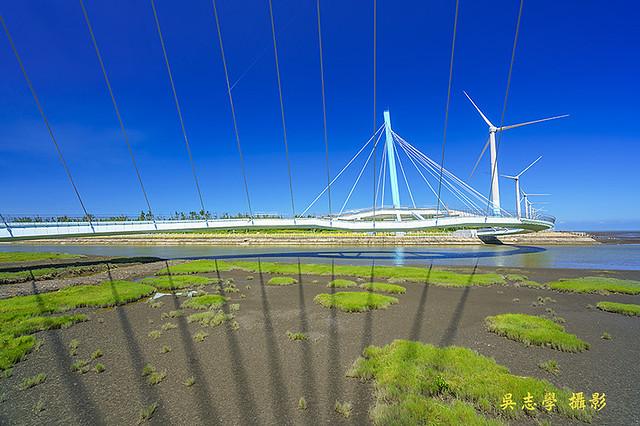 DV05268a--高美濕地景觀橋,高美溼地景觀橋,高美濕地風力發電,台中市,清水區(A7RII,AdobeRGB)