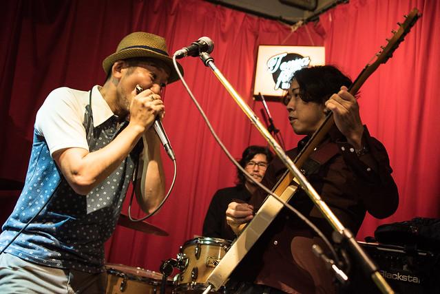 the AstroBluenauts live at Terraplane, Tokyo, 28 Jul 2017 -00305