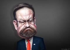 Sebastian Gorka - Caricature
