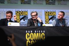 Taron Egerton, Colin Firth & Channing Tatum