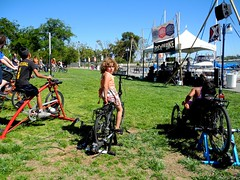 pedal-powered stage