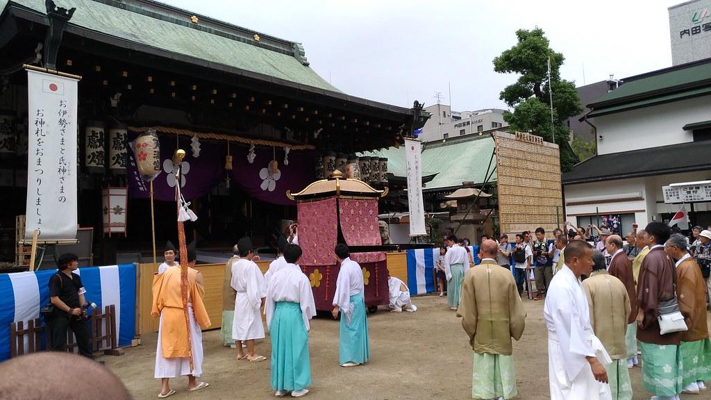 大阪天満宮 神事