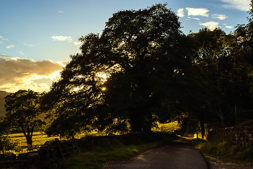 Sunset at Farndale