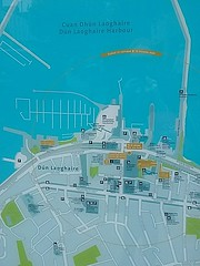 Map of Dun Laoghaire