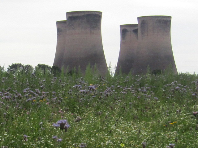 Fiddlers ferry cooling towers, Canon POWERSHOT SX420 IS