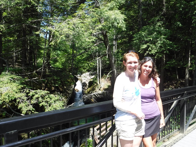 Heather and Tanya at Texas Falls