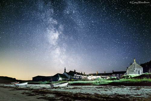Village Stars - Milky Way, Low Newton by the Sea, Northumberland