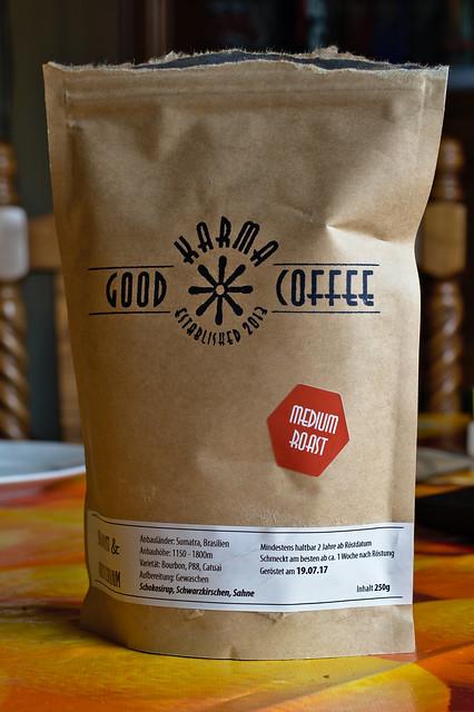 Good Karma Coffee Schokolust und Kirschentraum