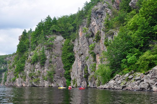 Kayaking at Bon Echo Provincial Park