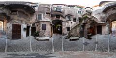 360 Panorama at Dolceacqua, Impera, Italia