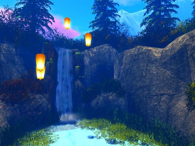 Ash Falls - Lantern Waterfall