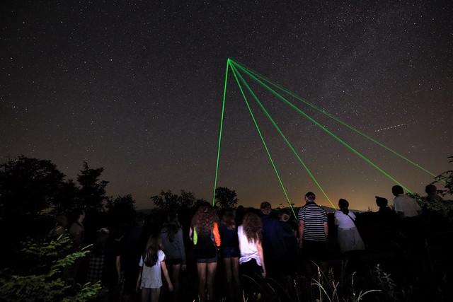 FOTO Astronomie și fotografie la Runcu, într-o școală de vară