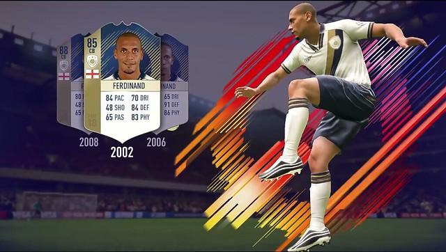 FIFA 18 Ferdinand Icon Card