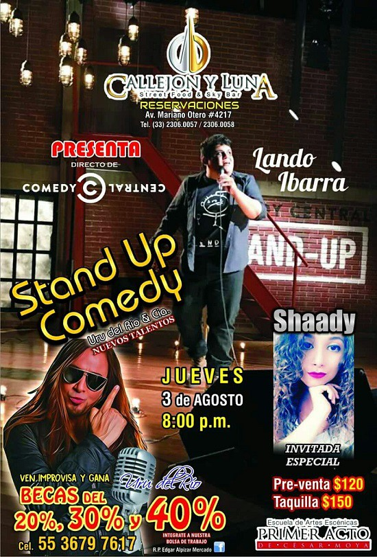 2017.08.03 STAND UP COMEDI