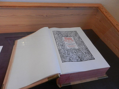 First edition, Icelandic Bible. At Skálholt Cathedral. From Unique Things to See and Do in Iceland