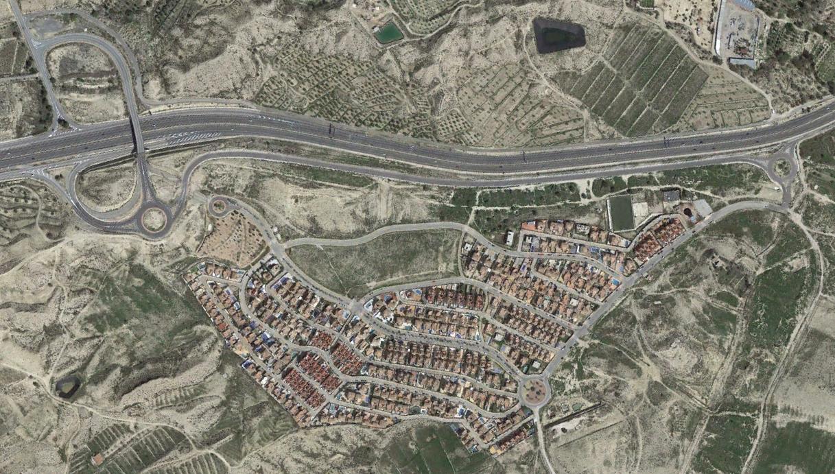 monte del cid, alicante, monte de un muerto, después, urbanismo, planeamiento, urbano, desastre, urbanístico, construcción, rotondas, carretera