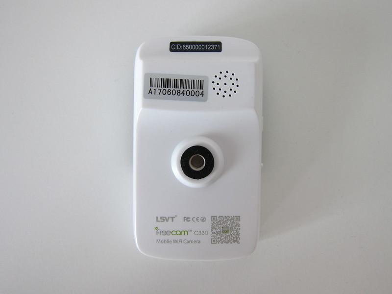 Freecam Mobile Wi-Fi Camera (C330A) - Back