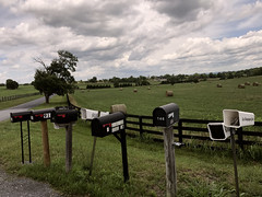 Day 189 Country lane mailboxes