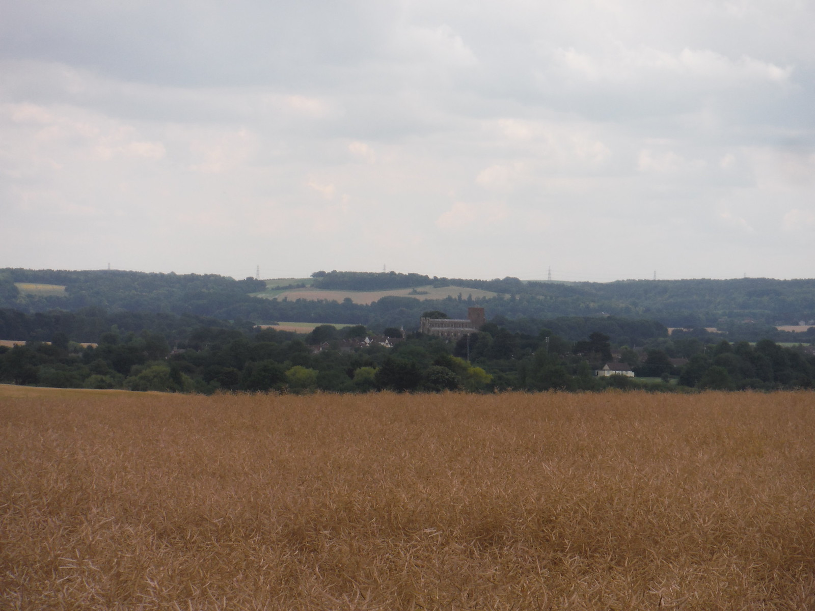 All Saints', Shillington, and Chilterns beyond SWC Walk 233 - Arlesey to Letchworth Garden City