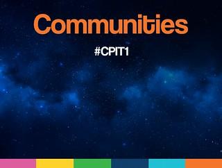 #CPIT1 Communities