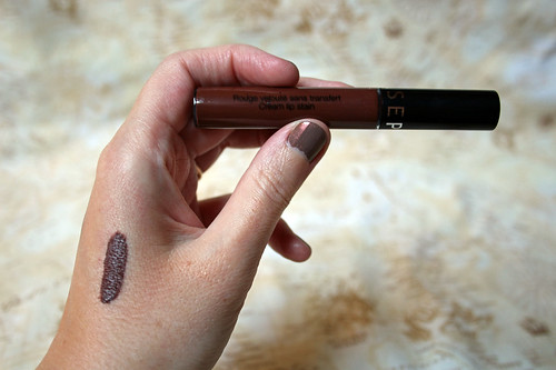 Sephora, cream lip stain in pretty auburn