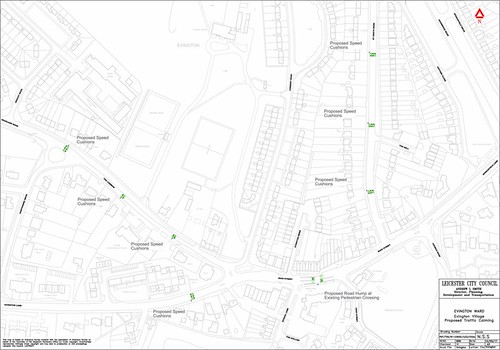 Appendix B - Proposed Traffic Calming - Evington.pdf
