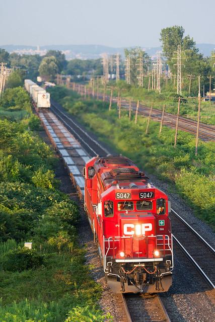 CP 133 @ Pointe-Claire, QC