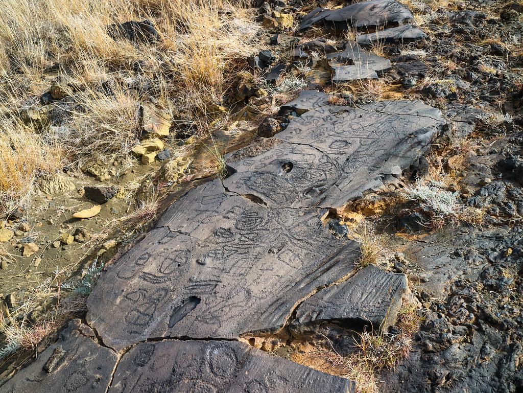 Petroglifos en El Hierro