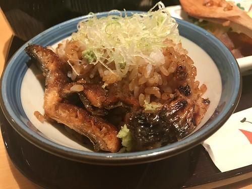 Eel meal at Bincho