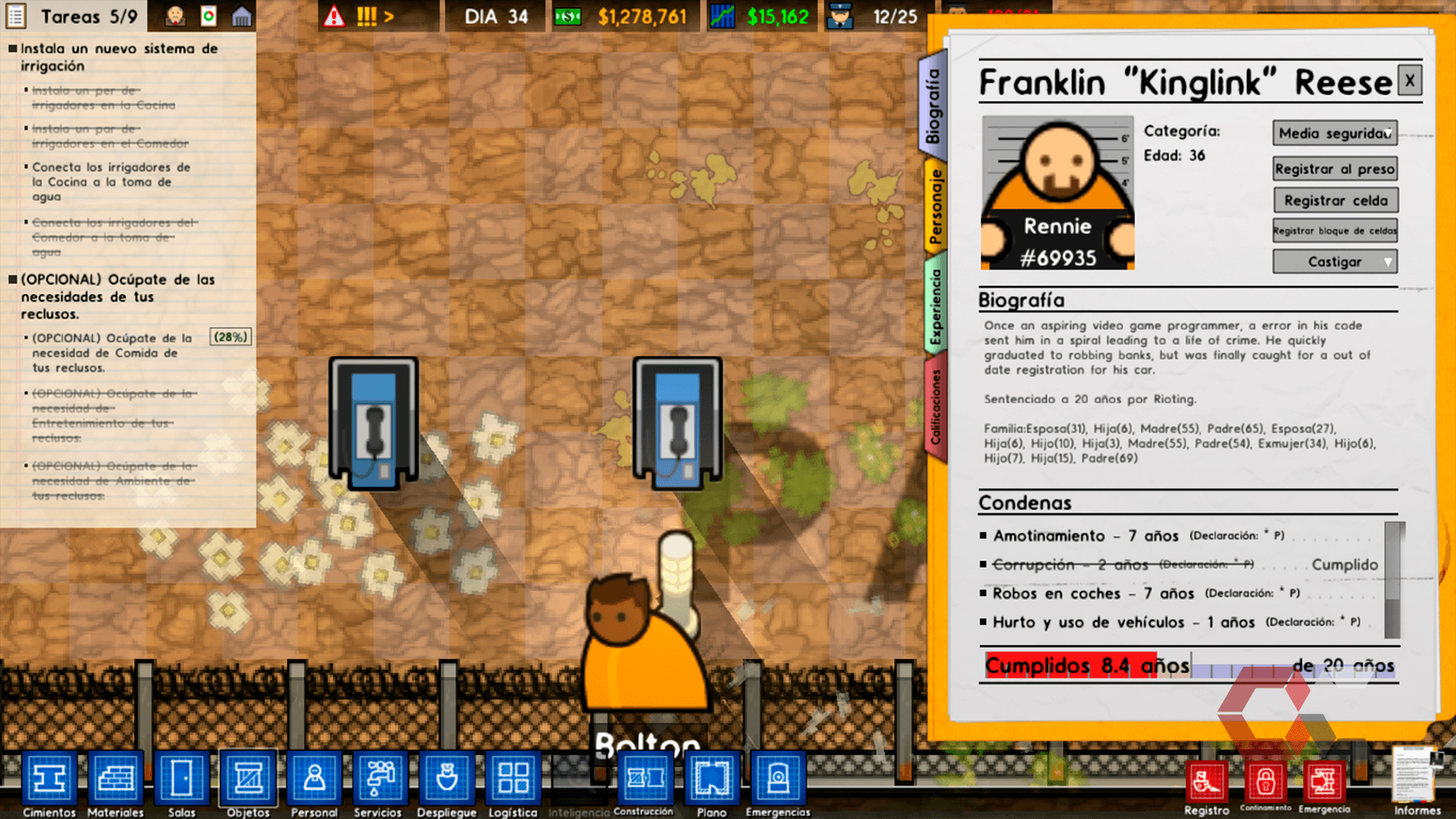 prison architect review - overcluster 6