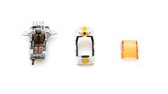 Zoids Pteras: Cockpit parts