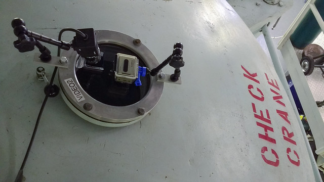 Cameras on the top porthole