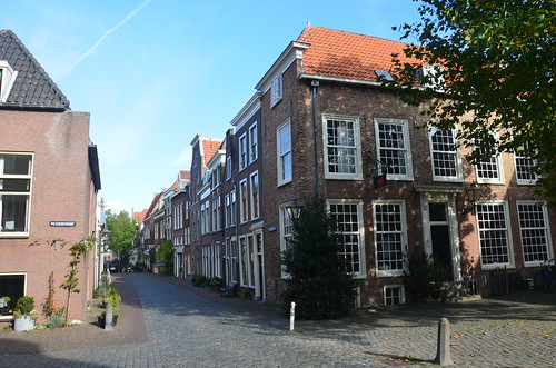 Wohnviertel in der Nähe der Universität Leiden