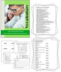 100 Vocabulary Words Every High Schooler Should Know - Complete Unit