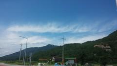 여름 오후: 청화산