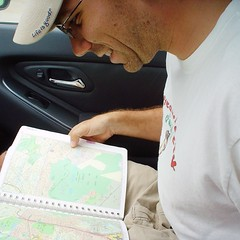 #tbt to when we used Thomas Guides instead of Google Maps to get us around. This was 2006 so perhaps Jim was being facetious.