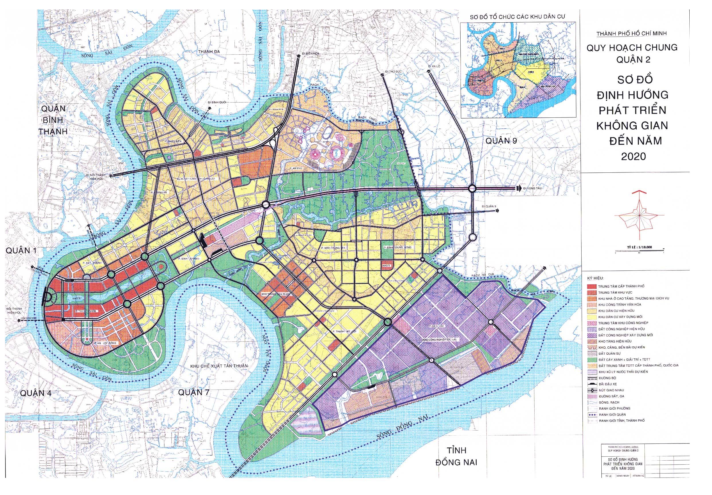 bản đồ quy hoạch quận 2