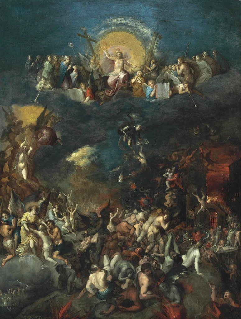 Frans Francken the Younger - The Last Judgment, 1606