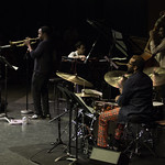 July 5, 2017 - 12:22pm - Ambrose Akinmusire Quartet @ Moss Theater 6.14.17  Images ©2017 Bob Barry